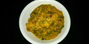 How To Make Bachali Kura Pachadi
